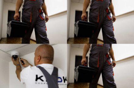 Монтаж систем охранно пожарной сигнализации и видеонаблюдения охранная компания КРОК